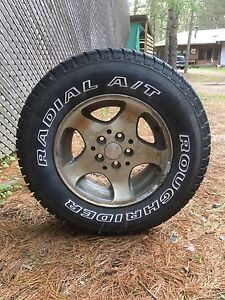 4 tires with rims for sale