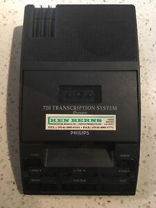 Transcription system 720, Dictaphone, accessoires