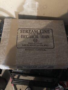 Louis Marx & co electric train set