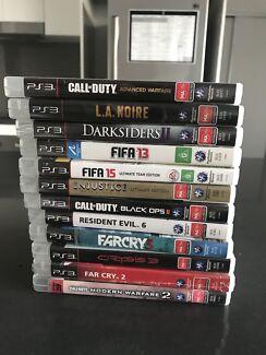 12 PS3 Games $60