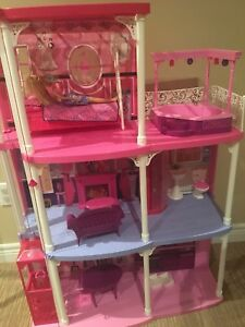 Barbie Dollhouse-$90