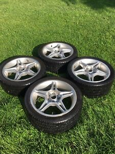 16 inch Honda alloy wheels and p205/40 r16 bfg euro t/a