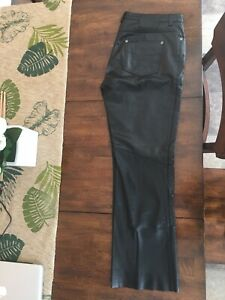 Ladies Harley Davidson leather pants