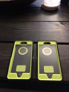Two otterbox defender iPhone 6/6s cases