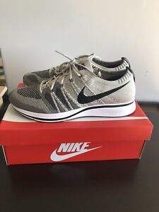 Nike Flyknit Trainers Pale Grey DS Size 11.5 160$ OBO or trades