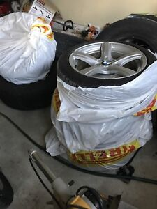 Original Bmw 3/4 series original winter tires/rims