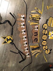 Bumble Bee Themed Party Decor