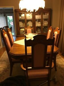 8 pc. Dining room suite for sale Caledon