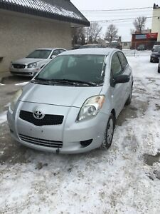2007 Toyota Yaris LE Fresh Safety (Carproof&Finance Available )