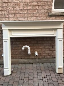 White Fireplace Mantel for sale