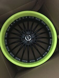"Mags 22"" 5x114.3 forged 2 pieces"