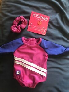American Girl Gymnastic Outfit