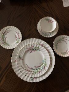 Royal Doulton Fine China ~ Belle Heather DISCONTINUED PATTERN
