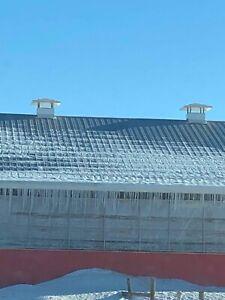 Barn roof vents