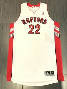 Authentic Adidas Autographed Rudy Gay Toronto Raptors Jersey