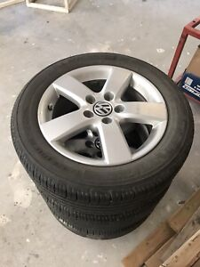 Rims and Tires for 2009/2010 VW Jetta