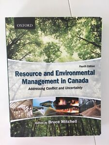 Resource and Environmental Management in Canada - 4th edition