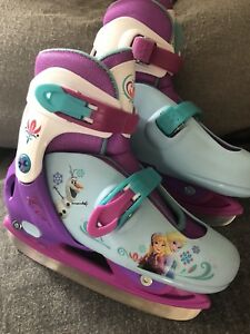 Patins glace fille ajustable