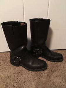 Harley Davidson boots/jacket and leather jacket