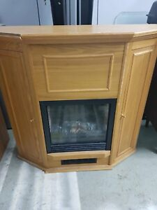 Fireplace. Electric