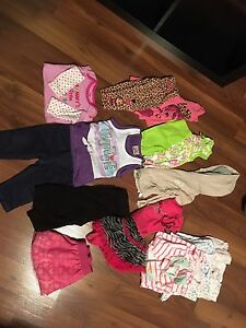 GIRLS 0-12month, with a few NB outfits LOT.