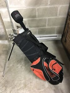 Women's Nancy Lopez Clubs and bag