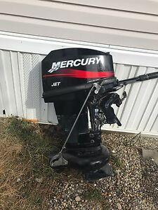 20 hp outboard jet