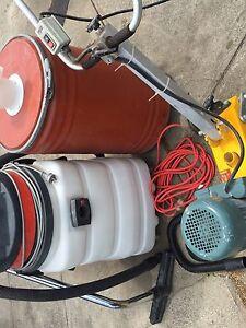 Delixi floor grinder with industrial filter and vacuum Reservoir Darebin Area Preview