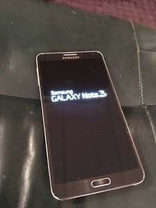 Galaxy note 3 Telus/Koodo 32gb négociable
