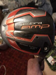 Cobra amp tuned 11.5 right handed driver