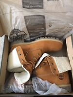 Timberland Fold-Down 8 Inch Boots (Size 10.5) Brand New!!
