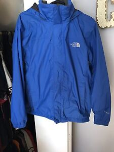 Blue north face wind jacket!
