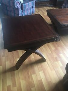 Coffee and end table (sold)
