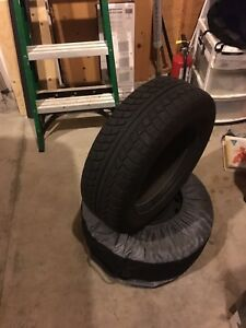 4 Winter Snow Tires - Mounted -  w/Covers  - $400 OBO