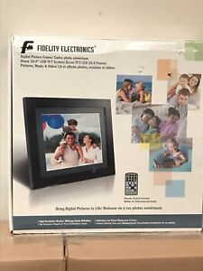 Fidelity Electronic 10.4-inch Digital Photo Frame
