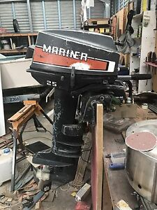 Outboard Mariner 25hp Forcett Sorell Area Preview