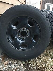 F150 winter tires and rims with sensors