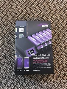 Brand New 6 bay Efest Bluetooth Charger.. Never Used