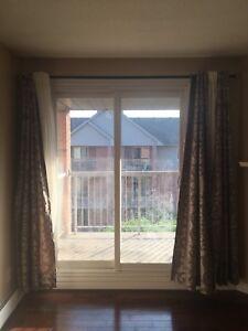 Curtains & Ikea rod