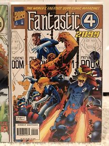 Marvel Comics Fantastic Four 2099 issue #2