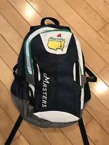 New 2018 Masters golf tournament Embroidered backpack