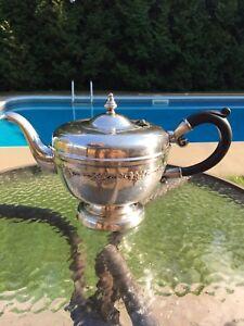 Antique Tea silver plated tea pot
