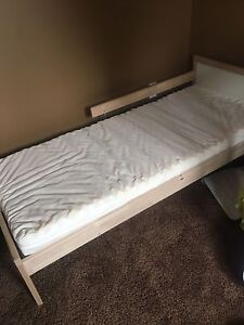IKEA toddler bed and mattress