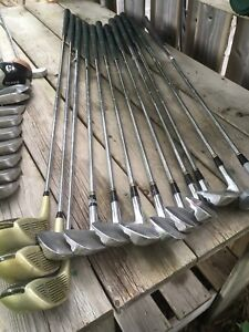 Golf clubs right hand set well used