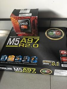 AMD FX 8320 CPU + mobo and 16gb ram