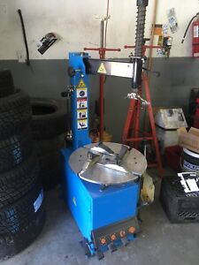 Tire changer practically brand new