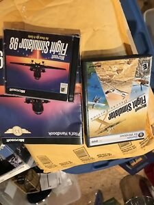 Microsoft flight Sim as well as two other games