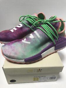 Adidas Pharrell HU Holi NMD Coral Chalk Size 11.5