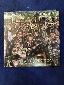 Rod Stewart - A Night On the Town Vinyl Record LP Redcliffe Redcliffe Area Preview