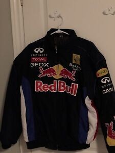 Red Bull Racing Jacket Men's Large